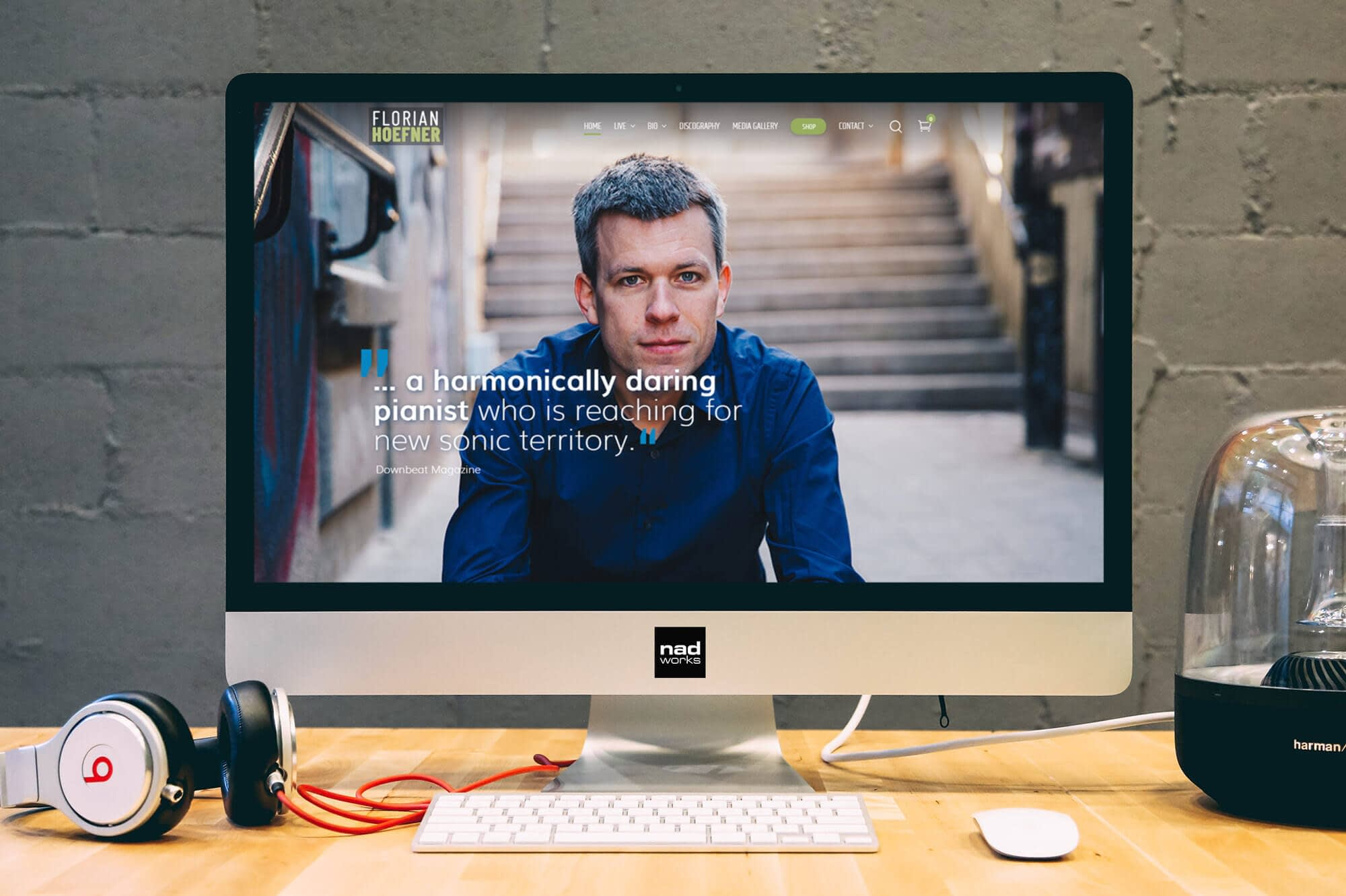 Florian Hoefner - new website