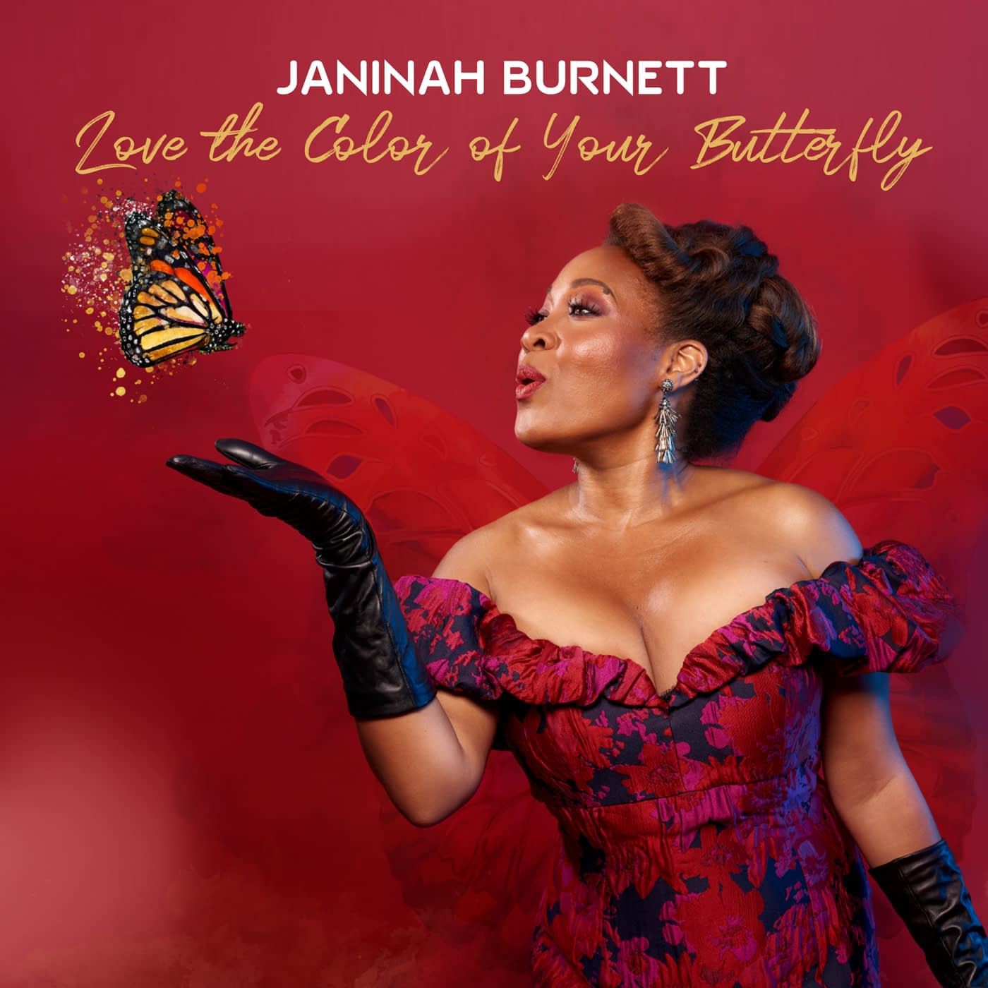Janinah Burnett - Love The Color Of Your Butterly