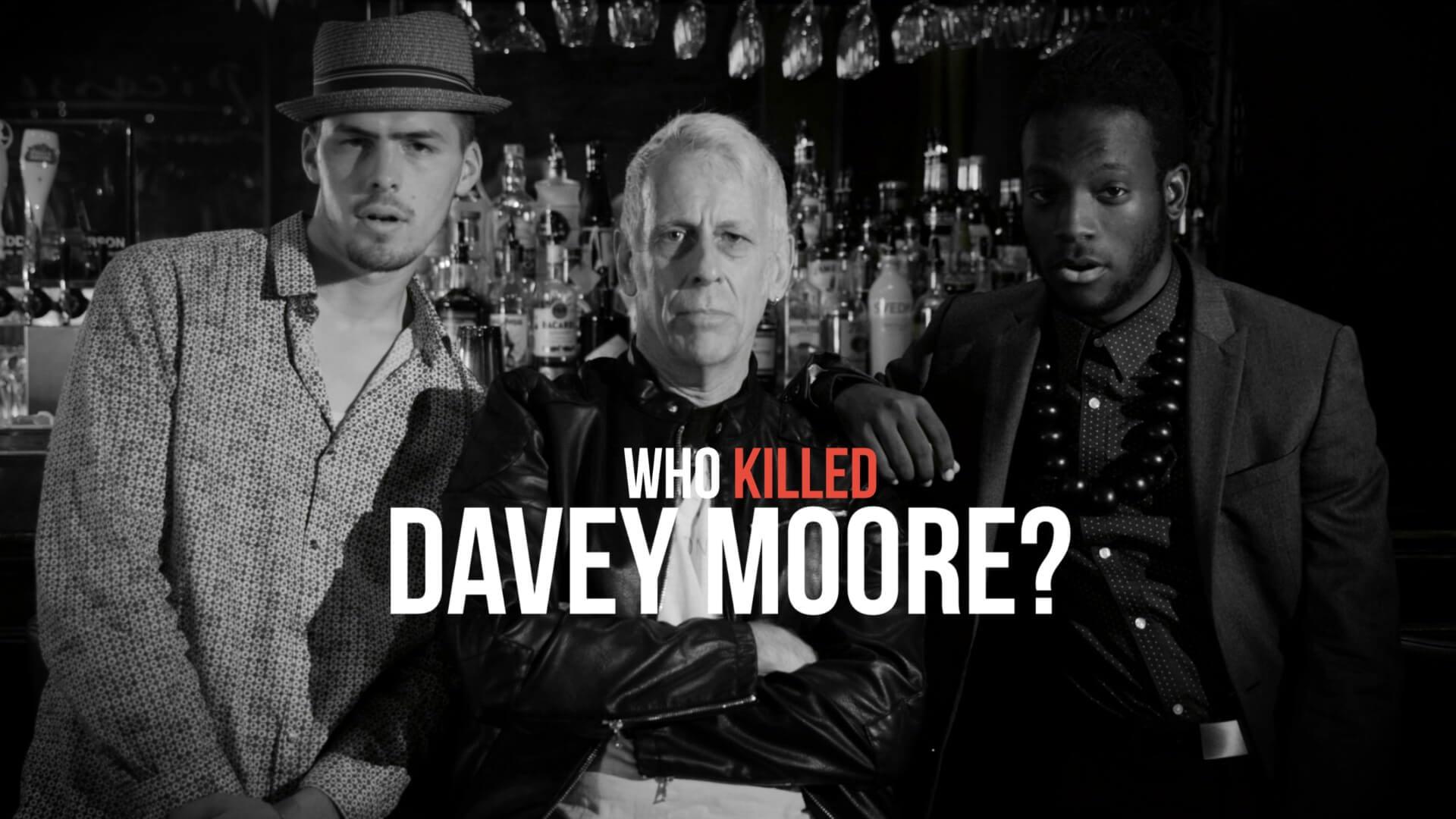 Joe Locke 'Who Killed Davey Moore'